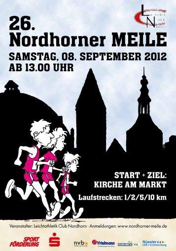 Ausschreibung - Nordhorner Meile