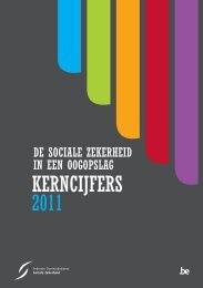 De sociale zekerheid in een oogopslag: kerncijfers 2011 (.pdf)