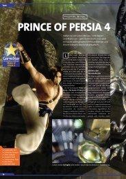 PRINCE OF PERSIA 4 - GameStar