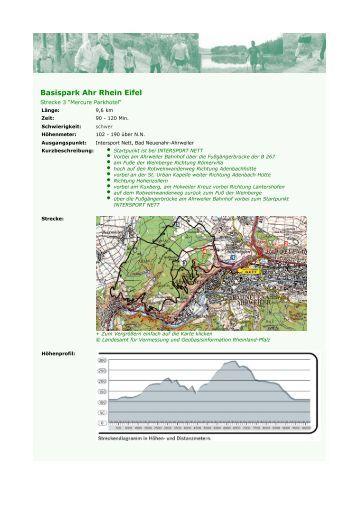 Strecke als PDF-Datei - Nordic Fitness Park Ahr Rhein Eifel