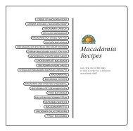 Macadamia Recipes - Wedophones.com wedophones