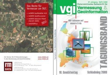 Vermessung Geoinformation Vermessung ... - Geodaetentag.at
