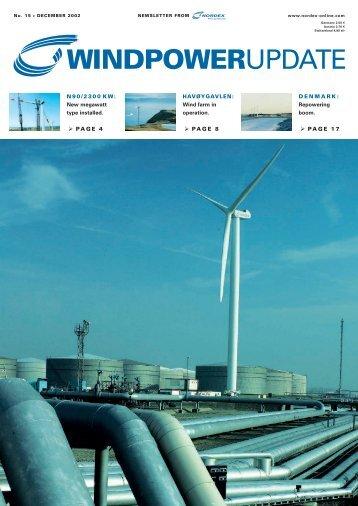 Download WindpowerUpdate 15 - Nordex