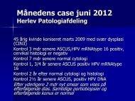 MÃ¥nedens case juni 2012 - Dansk Cytologiforening