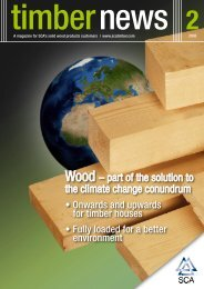 Wood – part of the solution to the climate change conundrum