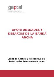 oportunidades y desafios de la banda ancha - IESE Business School