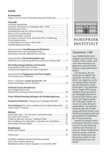 Nummer 148 - Nordfriisk Instituut