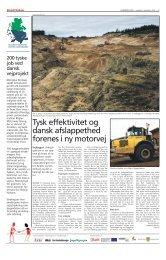 Tysk effektivitet og dansk afslappethed forenes i ny motorvej