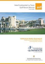InterContinental La Torre Golf Resort Murcia - Stefan Quirmbach ...