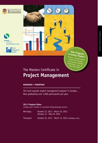 Project Management - University of Winnipeg