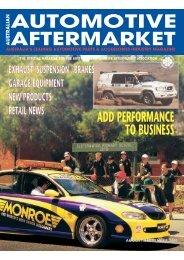 AM AUG/SEPT - Australian Automotive Aftermarket Magazine