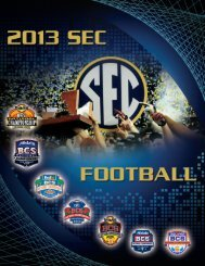 Complete Guide - Southeastern Conference