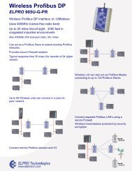 Wireless Profibus DP