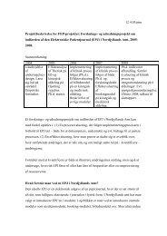 12.4.05/ptm Projektbeskrivelse for FEP-projektet: Forsknings- og ...