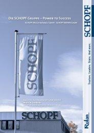 Die SCHOPF Gruppe – Power to Success - SCHOPF Maschinenbau ...