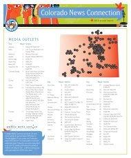 Colorado News Connection - Public News Service