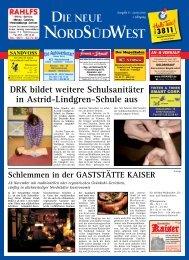 Ausgabe 06 vom 29.10.2010 - Die neue NordSüdWest
