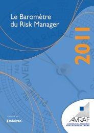 Le Baromètre du Risk Manager 2011 - Deloitte