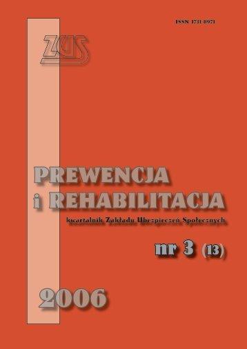 Prewencja i rehabilitacja nr 3/2006 (13) (983KB)