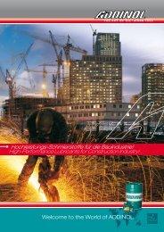High-Performance Lubricants for Construction Industry! - Addinol ...