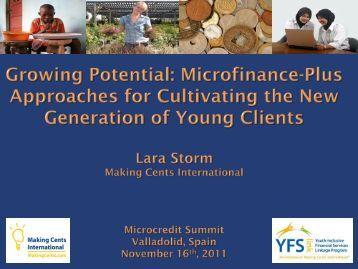 L_ Storm - Workshop - Global Microcredit Summit 2011