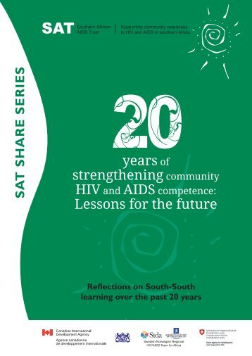 20 years of strengthening community HIV and AIDS - Southern ...