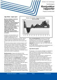 Konjunkturprognos november 2007 - Teknikföretagen