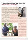 Haiti: A year after the earthquake Haití: Un año ... - Ordine di Malta - Page 7