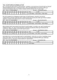 Resultatlista - Kronobergs Taxklubb