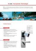 CISA Transponder Schliesssysteme - NORMBAU - Seite 2
