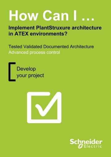 Implement PlantStruxure architecture in ATEX environments?