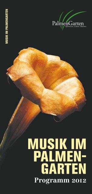 musik im palmen - Palmengarten
