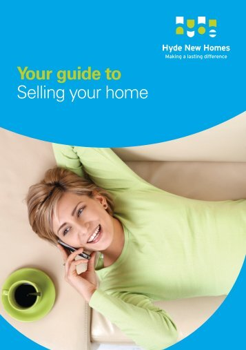 Your guide to Selling your home - Hyde New Homes