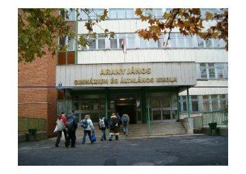 Az Arany János gimnázium és általános iskola bemutatása
