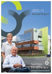 DOWNLOAD Annual Report - South West Alliance of Rural Health