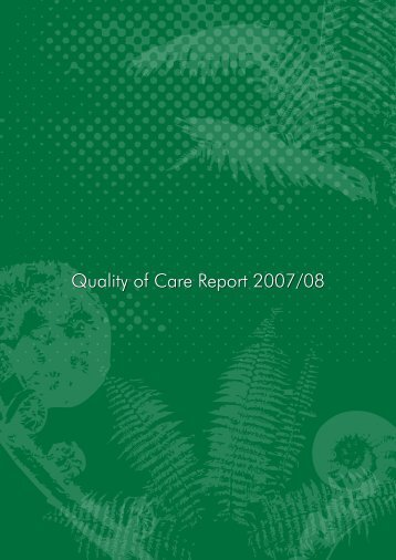 Quality of Care Report 2007/08