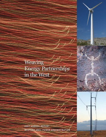 2007 Annual Report (PDF 3.8 MB) - Western Area Power ...