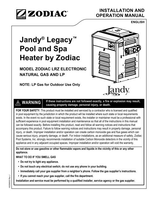 on jandy pool heater wiring diagram