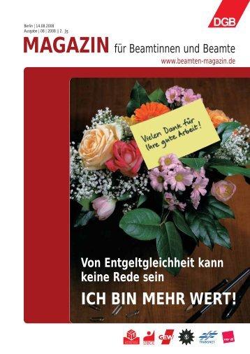 Ausgabe | 08 | 2008 - Landesbeamte