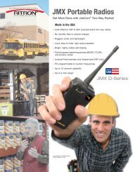 JMX Portable Radios - Lauttamus Communications