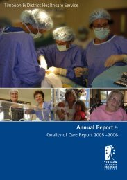Annual Report 2006 - South West Alliance of Rural Health