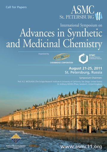 Advances in Synthetic and Medicinal Chemistry - ACS Division of ...