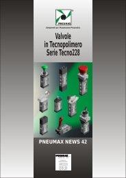 Valvole in Tecnopolimero Serie Tecno228 - Pneumax