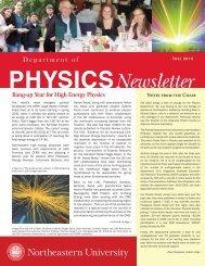 Newsletter - Northeastern University