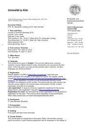 Briefbogen Institute ohne Logo mit Abteilung 2zeilig - Universität zu ...