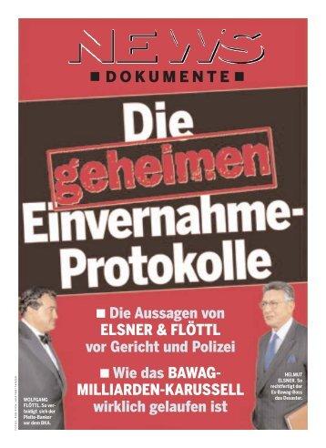 DOKUMENTE Die Aussagen von ELSNER & FLÖTTL vor ... - NEWS