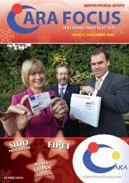 December 2009 - The Irish Sports Council