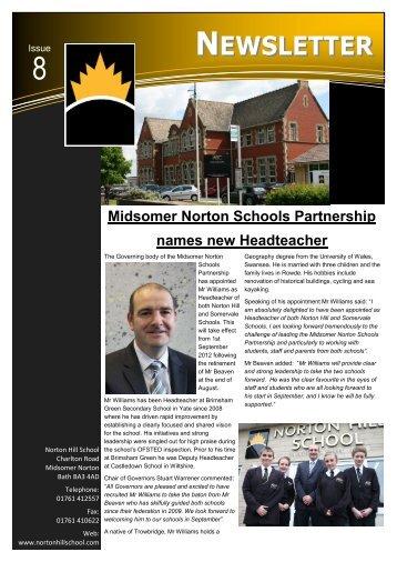 NEWSLETTER - Norton Hill School