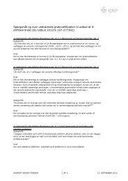 Spørgsmål og svar i forbindelse med EKF's it-driftsudbud