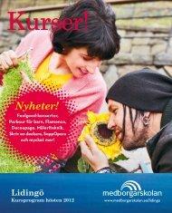 Lidingö hösten 2012 - Medborgarskolan